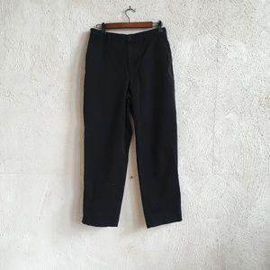 RALPH LAUREN BLACK PANTS 10P